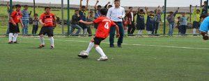 Siverek'te 'Barış ve Kardeşlik' Adlı Futbol Turnuvası