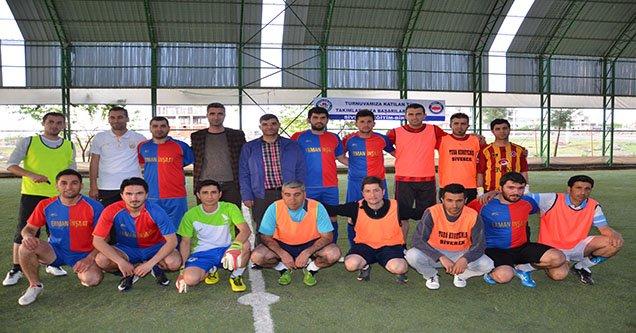 Siverek'te Futbol Turnuvası