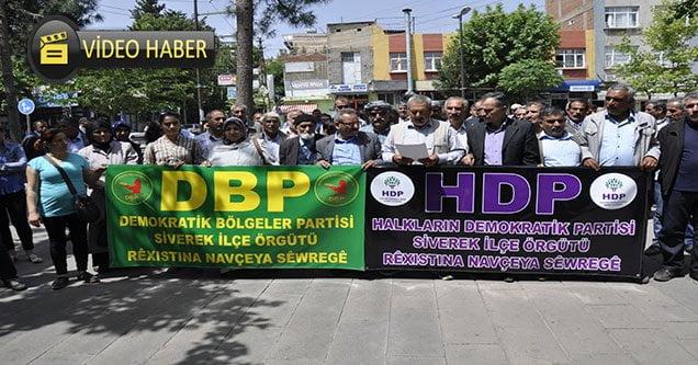 HDP ve DBP'den Gözaltılara Protesto