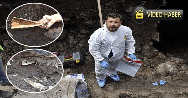 Kazı Çalışmasında Kemik Parçaları Bulundu