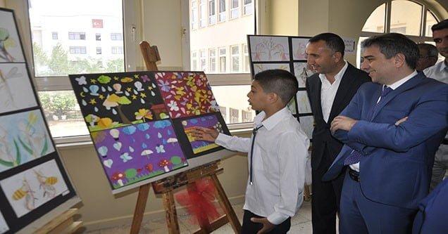 Şehit Öğretmen Metin Gençdal'da TÜBİTAK Bilim Fuarı