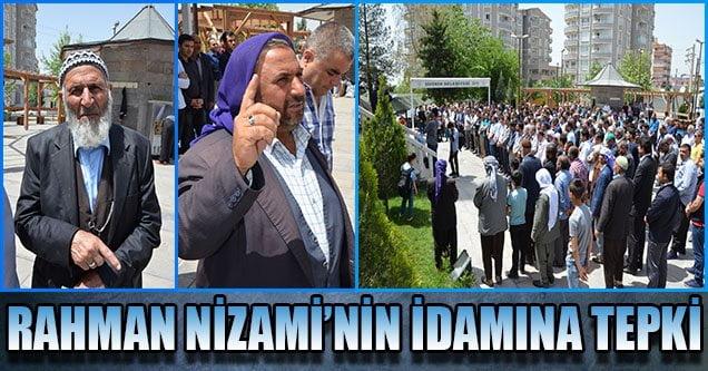 Siverek'te Nizami'nin İdamına Tepki
