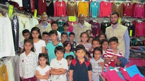 İkra-Der 130 Çocuğu Giydirdi