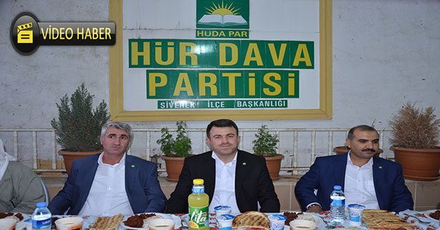 HÜDA-PAR Genel Başkan Yardımcısı Siverek'te