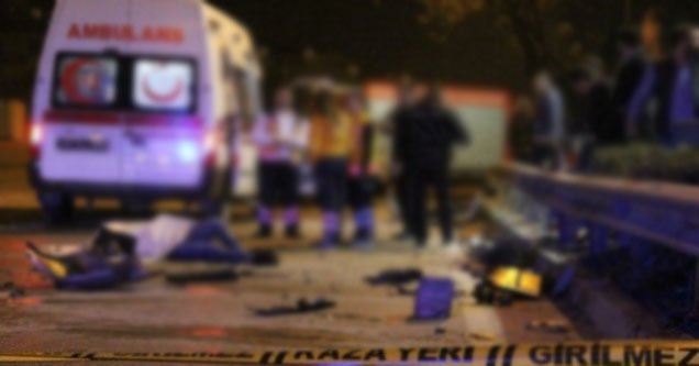 Trafik Kazası: 1 Ölü 3 Yaralı