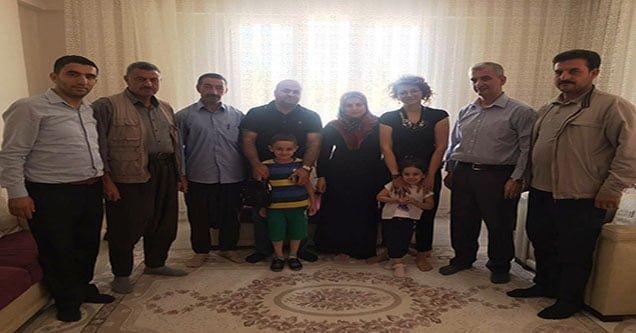Emniyet Müdürlüğünden Şehit Ailelerine Ziyaret