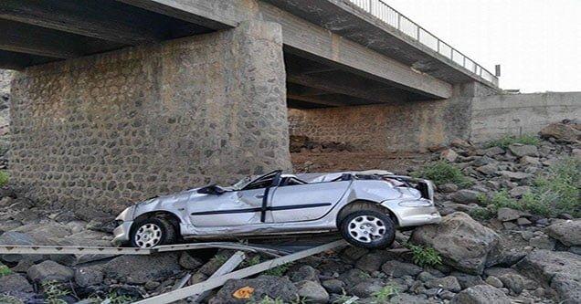 Trafik Kazası: 1'i Ağır 5 Yaralı