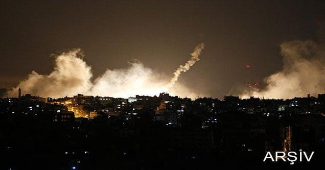 İsrail ordusundan Gazze'ye hava saldırısı!