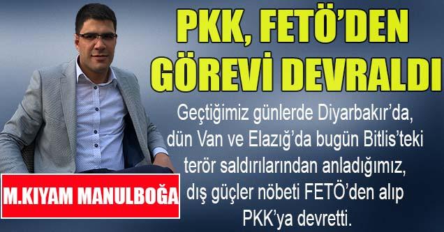 PKK, FETÖ'den görevi devraldı
