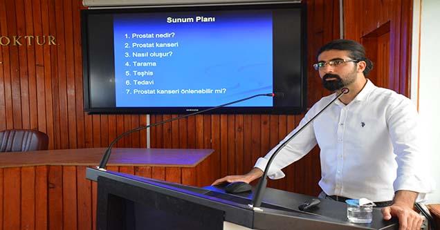 Prostat kanseri bilgilendirme semineri