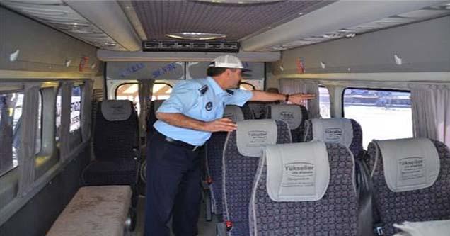 Okul Taşıtları ile Yolcu Minibüslerinde Denetleme