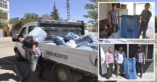 Siverek Belediyesi 50 Bin Kurban Atık Poşeti Dağıttı