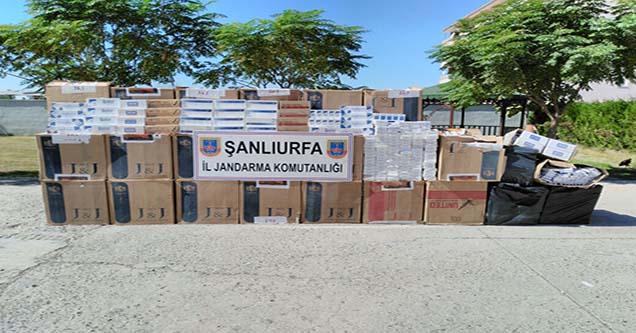 6 Bin 702 Paket Kaçak Sigara Ele Geçirildi