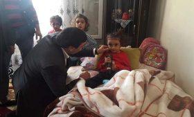 Başkan İlhan Çelik, Kazada Yaralanan Öğrencileri Ziyaret Etti