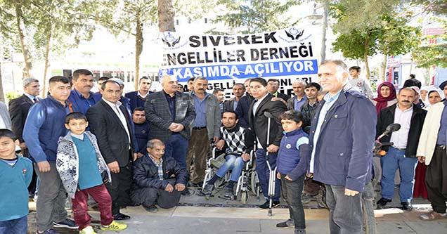 Siverek Engelliler Derneği'nin Açılışı Yapıldı