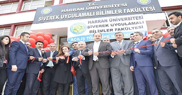 Uygulamalı Bilimler Fakültesinin açılışı yapıldı