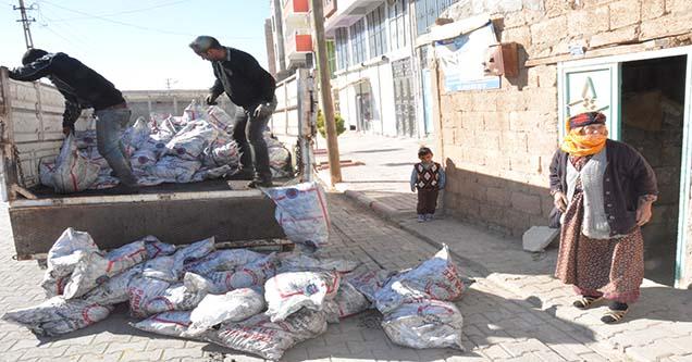 5 bin aileye kömür yardımında bulunuldu