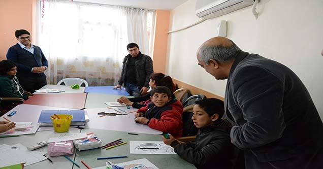 Siverek Belediyesinden rehabilitasyon merkezlerine ziyaret