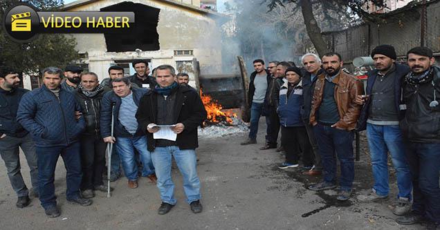 DEDAŞ çalışanı 45 kişi iş bırakma eylemi yaptı