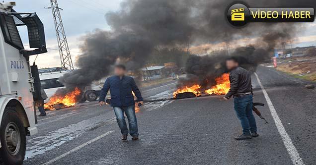 Siverek'te elektrik kesintisi protestosu