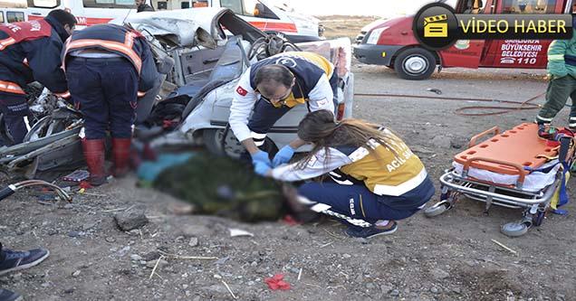 Siverek'te feci kaza: 1 ölü, 1'i ağır 4 yaralı