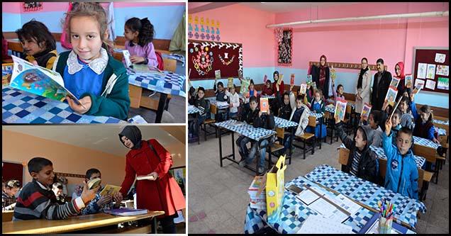 Siverek Belediyesinden köy okullarına kitap bağışı