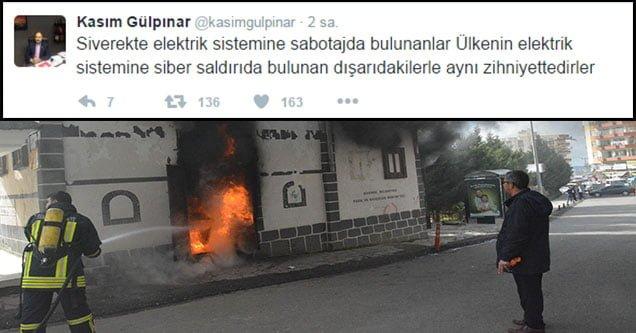 Trafo yangınlarında sabotaj şüphesi