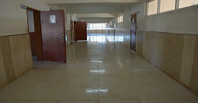 Siverek'teki tüm okullar baştan aşağı yıkanıyor