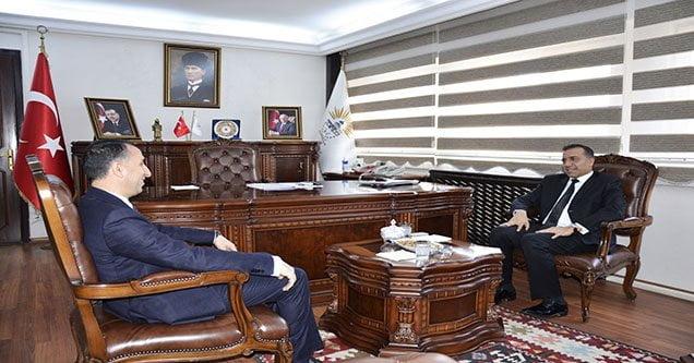Kaymakam Demirel'den Başkan Yılmaz'a ziyaret