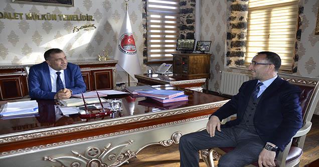Başkan Yılmaz'dan Kaymakam Demirel'e ziyaret