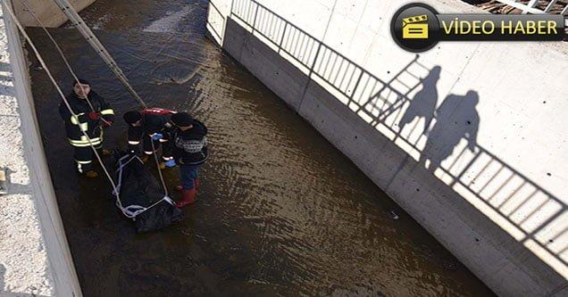 Kanalda darp edilmiş erkek cesedi bulundu!