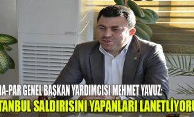 HÜDA-Par Genel Başkan Yardımcısı Yavuz'un Açıklamaları