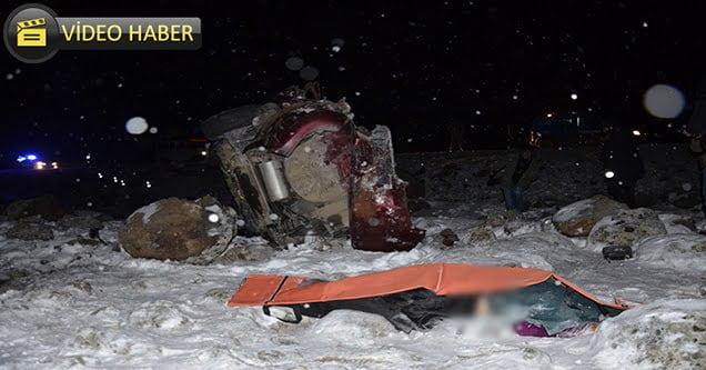 Düğün yolunda feci kaza: 4 ölü
