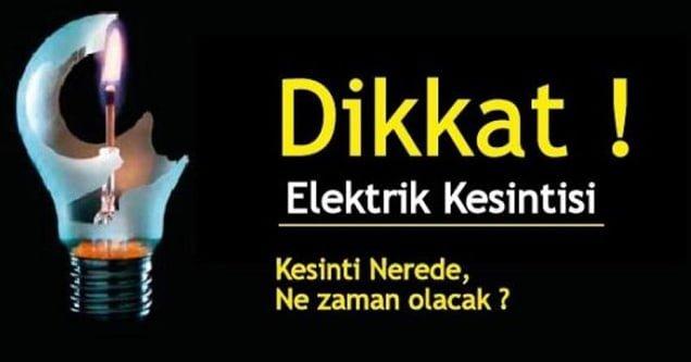 Siverek'te elektrik kesintisi yaşanacak!