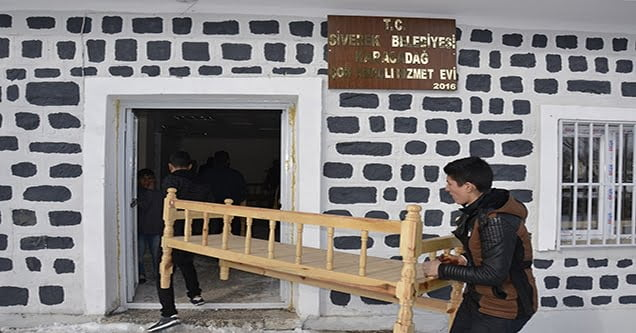 Karacadağ Çok Amaçlı Hizmet Evi tamamlandı