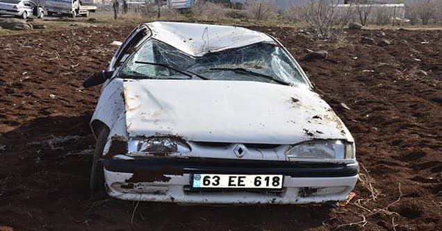 Trafik kazasında 2 kişi yaralandı