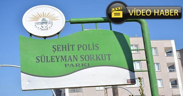 Şehit polisin ismi parka verildi