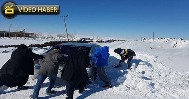 Kar yağışı kırsalı olumsuz etkiledi