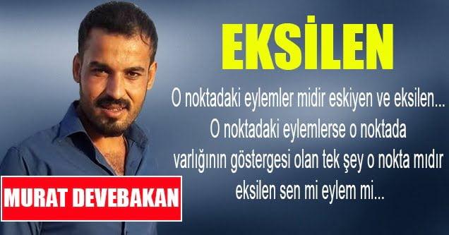 Murat Devebakan – Eksilen