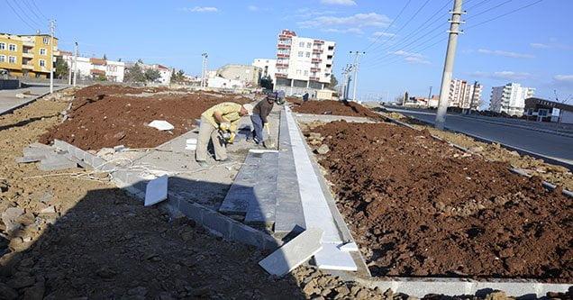 Yenişehir mahallesine dev park yapımına başlandı