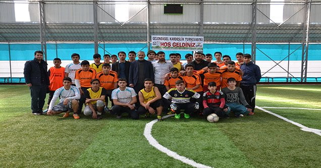 Liseler Arası Kardeşlik Turnuvası Düzenlendi
