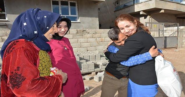 Siverek Belediyesinden down sendromlu çocuklara ziyaret