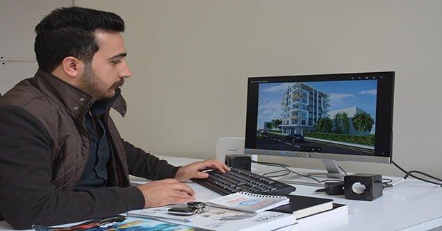 Siverek'te ilk kez iç mimarlık bürosu açıldı