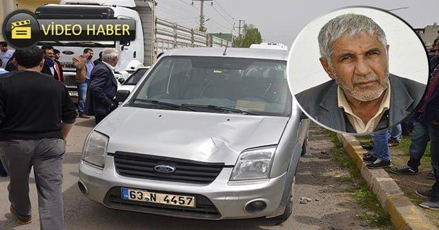 Hafif ticari aracın çarptığı yaşlı adam ağır yaralandı