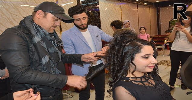 Uluslararası ödüllü saç ustası Yuşan Siverek'te