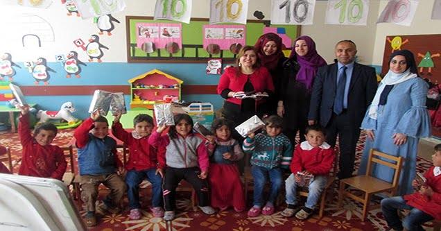 'Mutlu Çocuklar Kocaman Gülüşler' ekibi öğrencilerle buluştu
