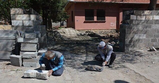 Siverek'te bazalt taşa dönüş başladı