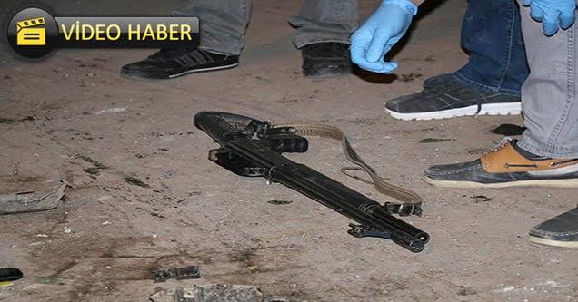 Seyir halindeki otomobile silahlı saldırı: 1 yaralı