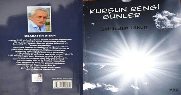 Siverekli şairin kitabı çıktı