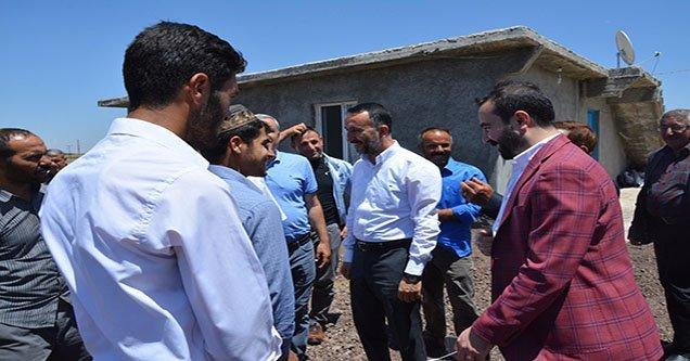 Başkan Yılmaz, kırsal mahalleleri ziyaret ediyor